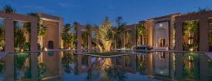 Mes'Lalla at Mandarin Oriental, Marrakech is one of Rock the Kasbah.