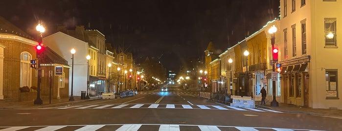 M Street is one of Washington 🇺🇸.