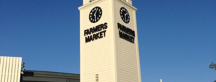 The Original Farmers Market is one of California King.