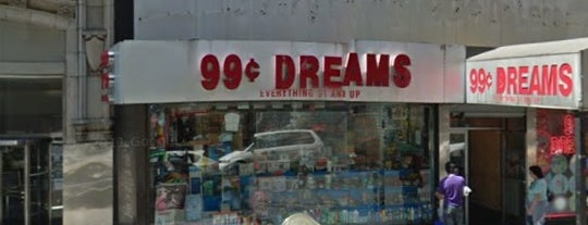 99¢ Dreams is one of Lugares guardados de Rozanne.