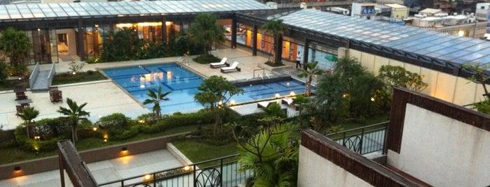 蘭城晶英酒店 Silks Place Hotel is one of Orte, die Simo gefallen.