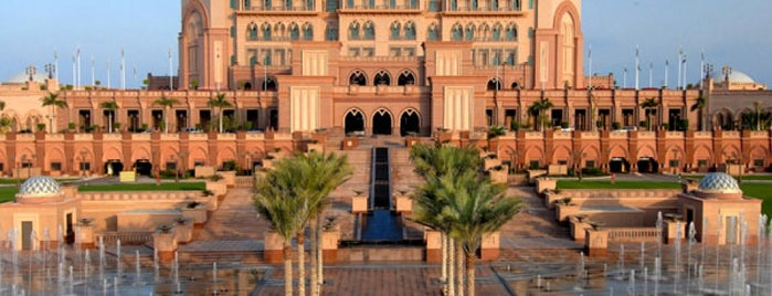 Emirates Palace Hotel is one of Best Asian Destinations.