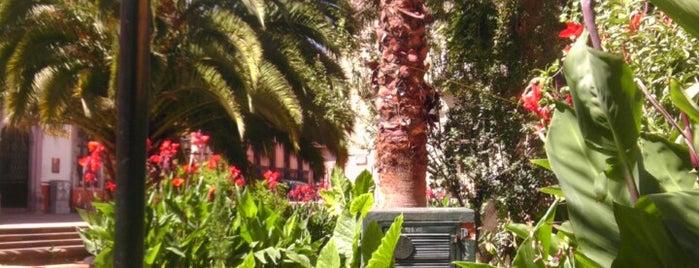 Jardin Juarez is one of Gespeicherte Orte von Abraham.