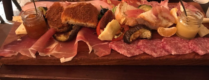 Pane e Salame is one of Rome Cafes and Restaurants.