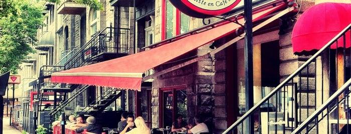 Brûlerie St-Denis is one of Cafés-torréfacteurs Montréal.
