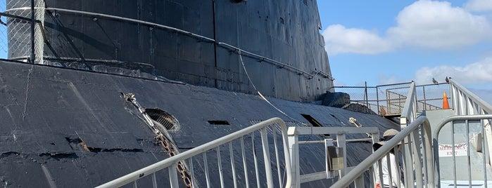Soviet Submarine B-39 is one of San Diego.