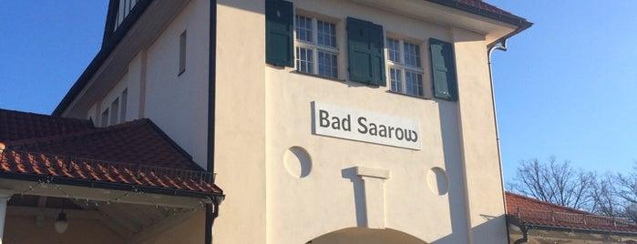 Bahnhof Bad Saarow-Pieskow is one of Brandenburg Blog.
