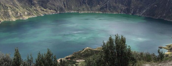 Laguna quilotoa is one of Locais curtidos por Antonio Carlos.