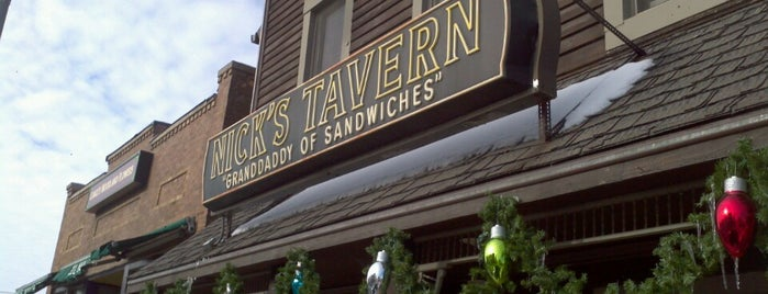 Nick's Tavern is one of Places I Need To Visit Or Go Back To.