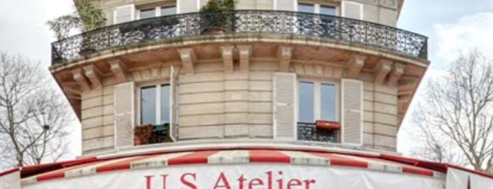 US Ateliers is one of Resturants Burger.
