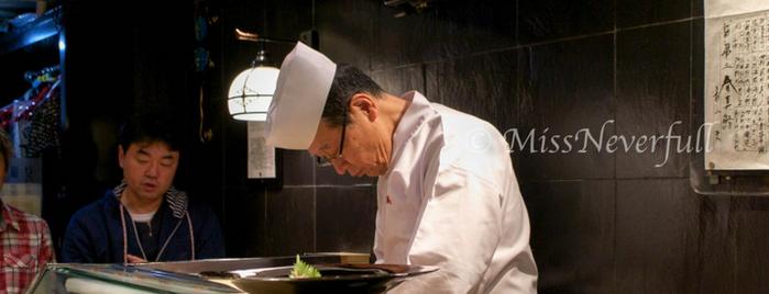 第三春美鮨 is one of Tokyo Sushi.