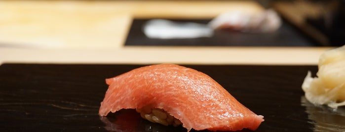 Sushi Tokami is one of Tokyo - Foods to try.