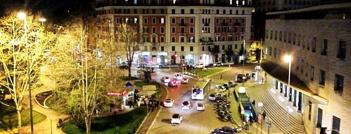 Piazza Bologna is one of Orte, die Inci gefallen.