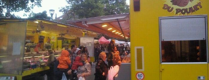 Ardense Jagerspleinmarkt / Marché Place des Chasseurs Ardennais is one of Gespeicherte Orte von David.