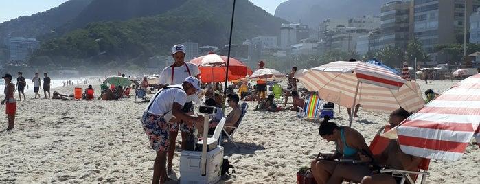 Praia do Leblon is one of Orte, die Ade gefallen.