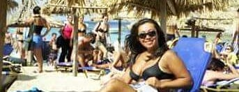 super paradise beach mykonos is one of Orte, die Ade gefallen.