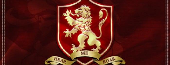 """House Baxa: Casterly Rock (""""Hear Me Roar!"""") is one of Bryan Chrisnel 님이 좋아한 장소."""