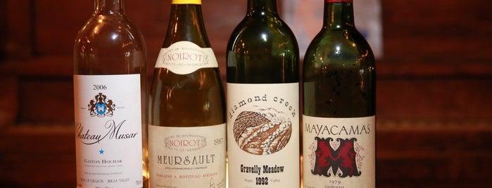 Augustine Wine Bar is one of Romantic LA.