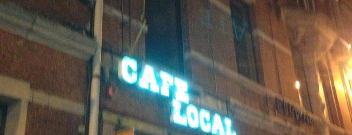 Café Local is one of Locais curtidos por Maarten.