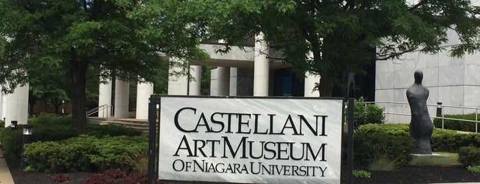 Castellani Art Museum is one of USA Museum To-Do.