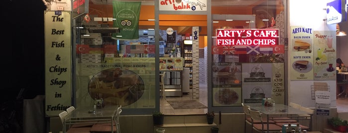 Arty's Fish & Chips is one of Fethiye.