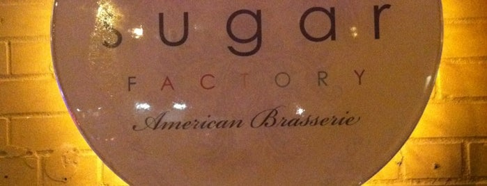 Sugar Factory American Brasserie is one of Bakeries and Desserts to Try.