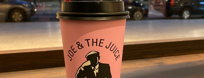 JOE & THE JUICE is one of NYC - Vegan & Veg.
