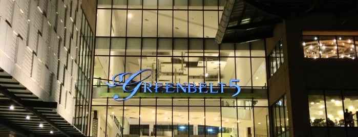 Greenbelt 5 is one of Manila.
