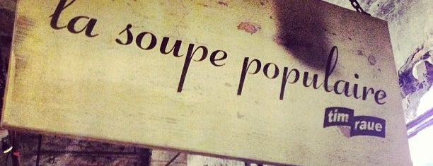 La Soupe Populaire is one of Francisさんの保存済みスポット.