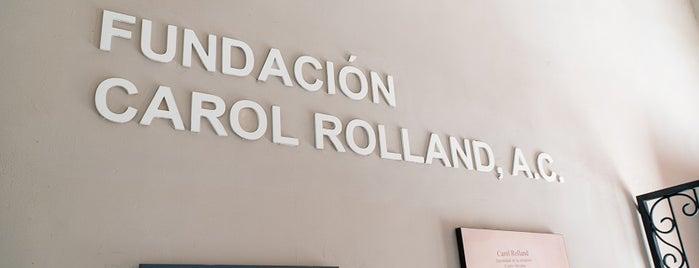 Fundación Carol Rolland, A. C. is one of Museo y Colección.