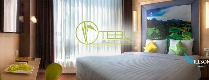 Tebu Hotel is one of Jocelyn'in Beğendiği Mekanlar.