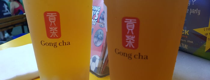 Gong Cha 貢茶 is one of Cafe part.4.