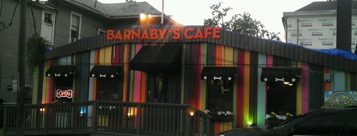 Barnaby's Cafe is one of The Top 5 Big Salads in Houston.