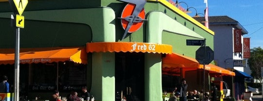 Fred 62 is one of Breakfast, Cafes and Coffee Shops.