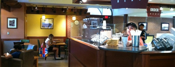 Caribou Coffee is one of Must-visit Cafés in Ames.