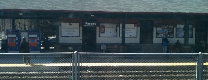 NJT - Passaic Station (MBPJ) is one of New Jersey Transit Train Stations.