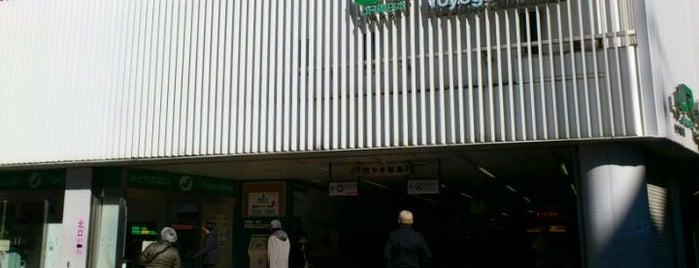 JR Yoyogi Station is one of สถานที่ที่บันทึกไว้ของ jaguar_imoko.