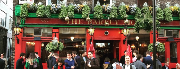 The Barley Mow is one of London Pubs.