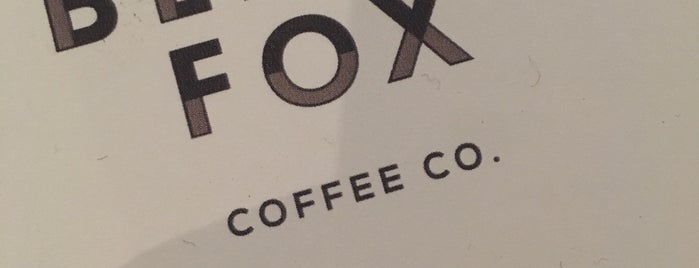 Black Fox Coffee Co. is one of Nyc.