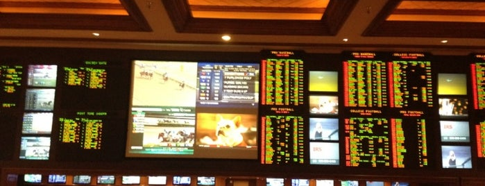 Mandalay Bay Race And Sports Book is one of Vegas, Baby, Vegas.