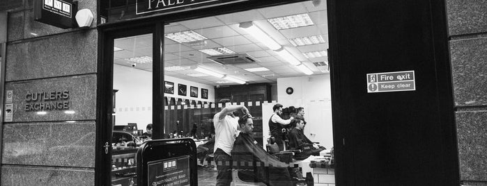 Pall Mall Barbers Bishopsgate is one of Posti che sono piaciuti a Adrian.