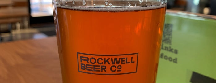Rockwell Beer Co. is one of Breweries or Bust 3.
