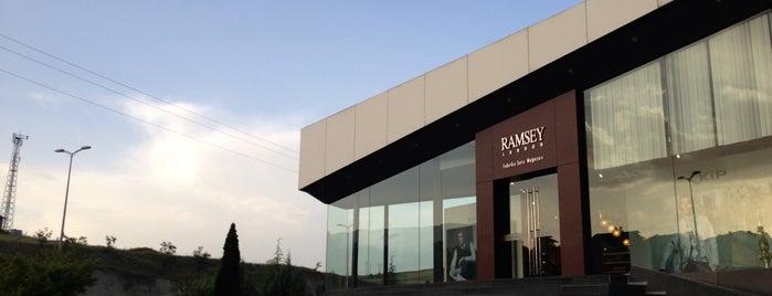 Ramsey is one of Tempat yang Disukai Z. Gurol.