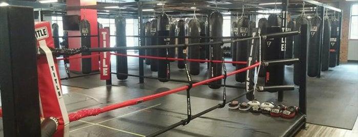 TITLE Boxing Club is one of Raine : понравившиеся места.