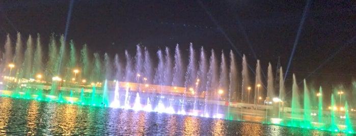 Dancing Fountain is one of Riyadh Season.