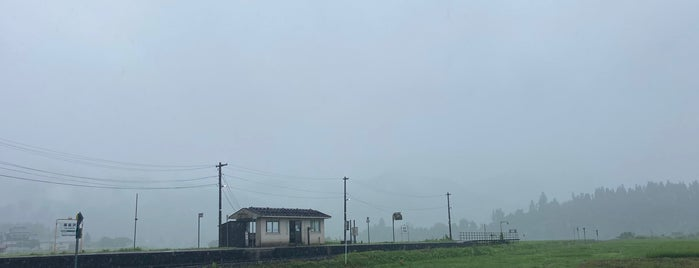Higashi-Nagasawa Station is one of JR 미나미토호쿠지방역 (JR 南東北地方の駅).