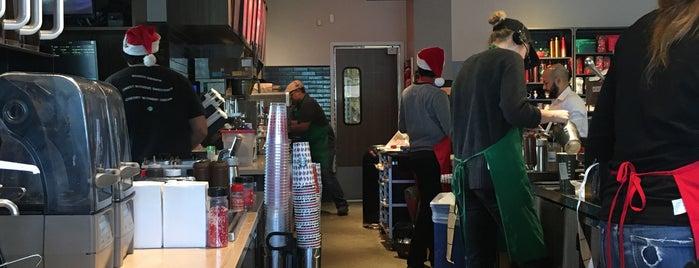 Starbucks is one of Orte, die Ingrid gefallen.