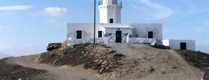 Armenistis Lighthouse (Fanari) is one of Greece: Dining, Coffee, Nightlife & Outings.