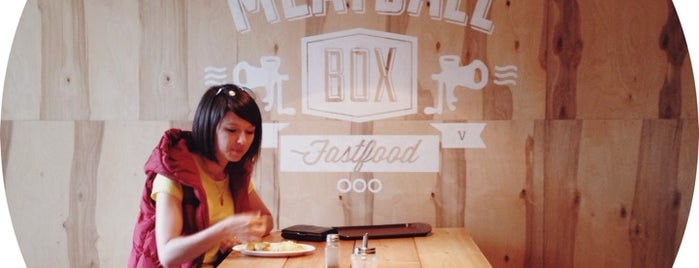 Meatball Box is one of Tempat yang Disukai Butter.