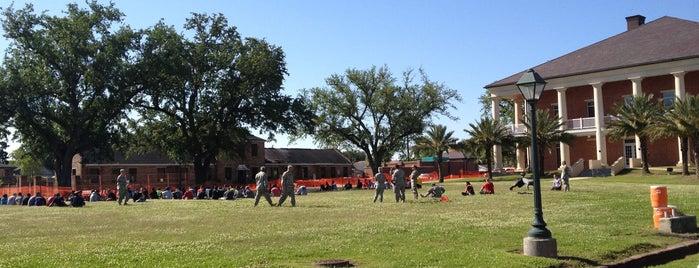 LA National Guard - Jackson Barracks is one of Louisiana.